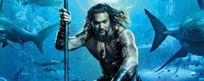 'Aquaman': Jason Momoa rodeado de tiburones, delfines, ballenas y más peces en el primer póster