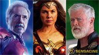 Así envejecerían tus superhéroes favoritos de Marvel Studios y DC