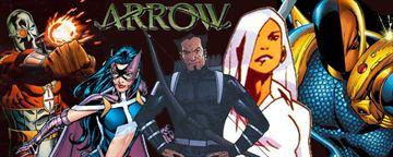 'Arrow': Personajes de DC Comics que aparecen en la serie