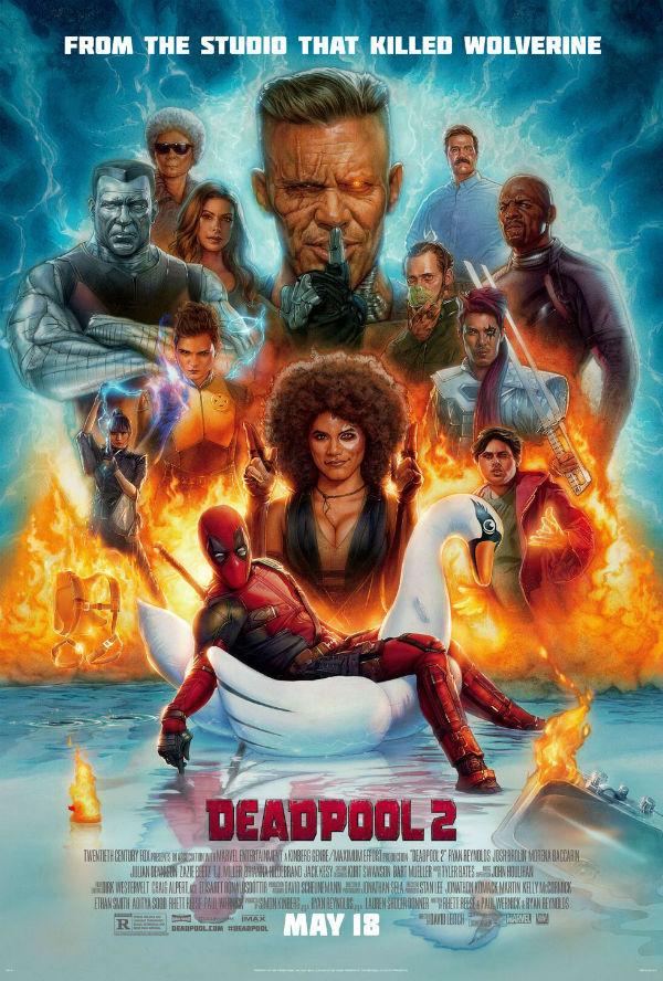 'Deadpool 2' se ríe de Lobezno en el último póster de la película