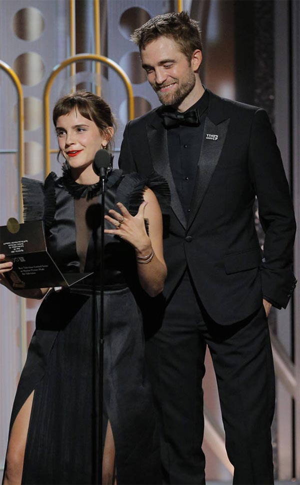 Globos de Oro 2018: Dos actores de \'Harry Potter\' se reencuentran en ...
