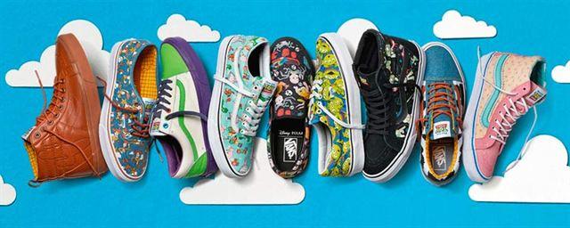 Toy Story': Vans lanza una línea de zapatillas inspiradas en