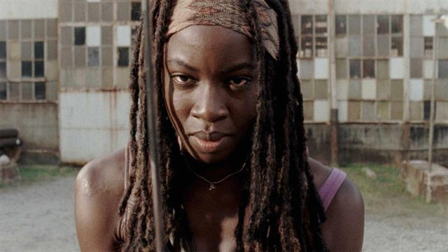Danai Gurira acaba con The Walking Dead