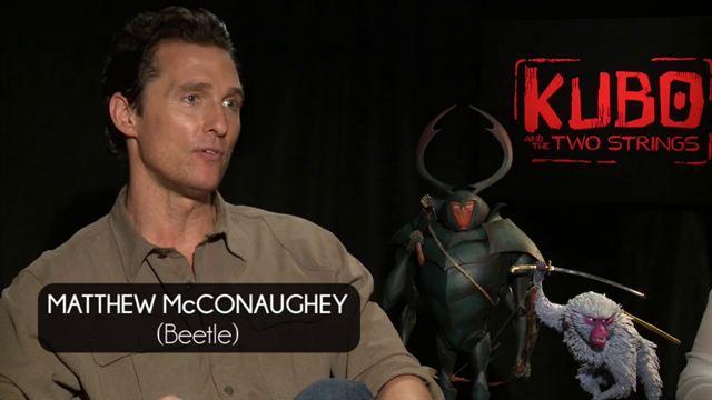 Travis Knight, Matthew McConaughey, Art Parkinson, Charlize Theron Interview 2: Kubo y las dos cuerdas mágicas