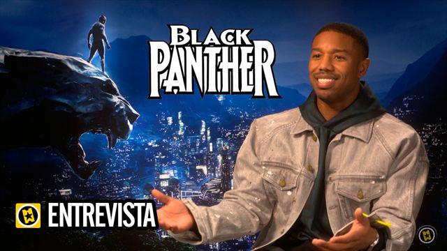 Michael B. Jordan, Chadwick Boseman, Ryan Coogler, Martin Freeman, Danai Gurira Interview 2: Black Panther