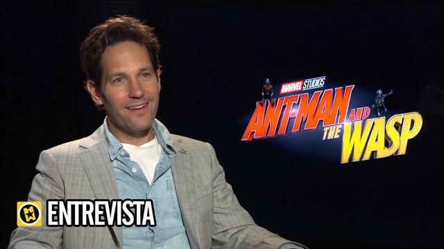 Michael Douglas, Hannah John-Kamen, Evangeline Lilly, Peyton Reed, Paul Rudd Interview : Ant-Man y la Avispa
