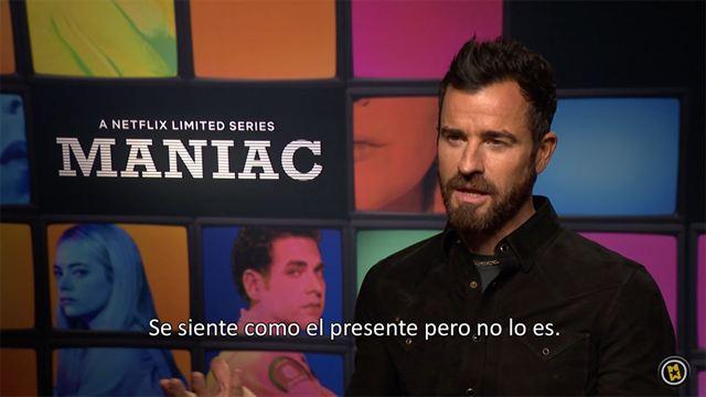 Cary Joji Fukunaga, Patrick Somerville, Justin Theroux Interview 2: Maniac (2018)