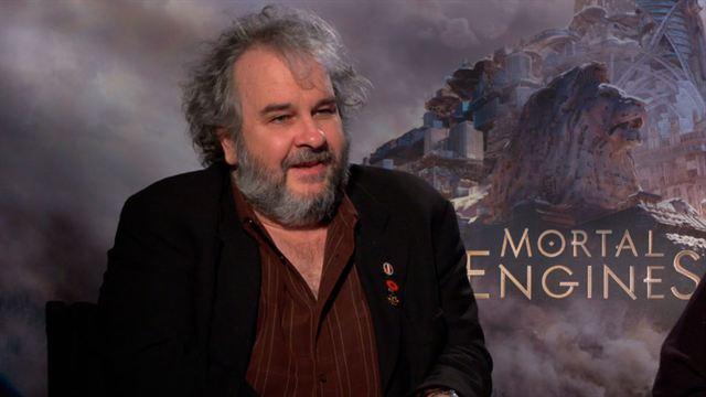 Leila George, Hera Hilmar, Peter Jackson, Jihae, Stephen Lang Interview : Mortal Engines