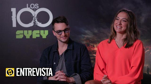 Richard Harmon, Tasya Teles Interview : Los 100