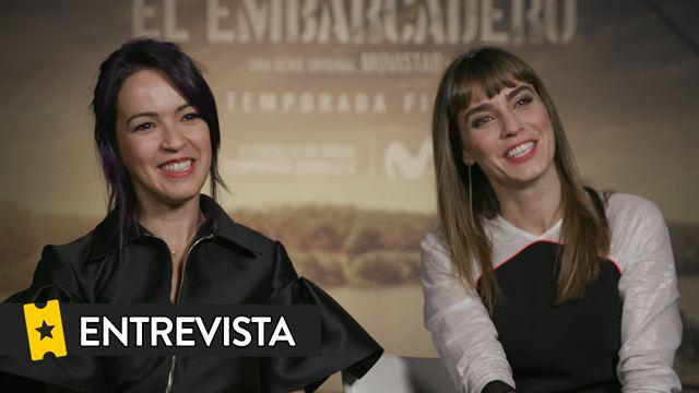 Irene Arcos, Verónica Sánchez, Álvaro Morte, Roberto Enríquez Entrevista: El Embarcadero