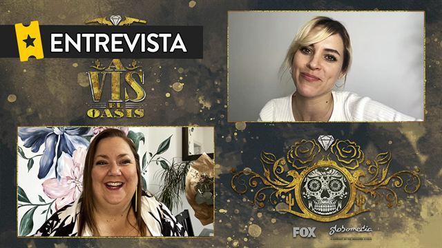 Maggie Civantos, Itziar Castro, Claudia Riera, Sandra Gallego Entrevista: Vis a Vis: El Oasis