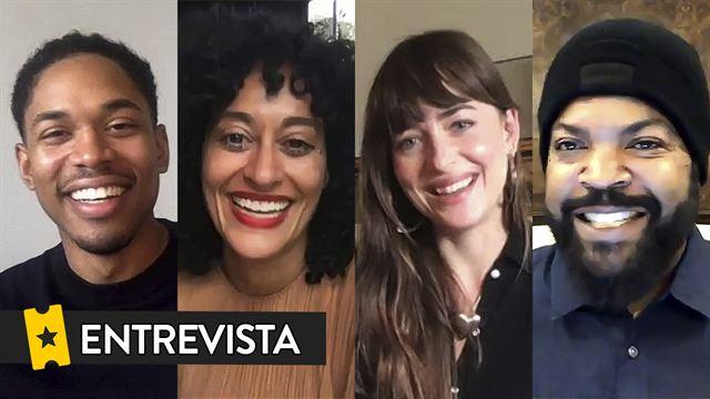 Entrevista 'Personal Assistant': Dakota Johnson, Tracee Ellis Ross, Kelvin Harrison Jr. y Ice Cube