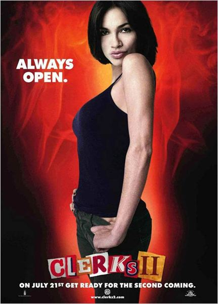 Clerks II : cartel Kevin Smith, Rosario Dawson