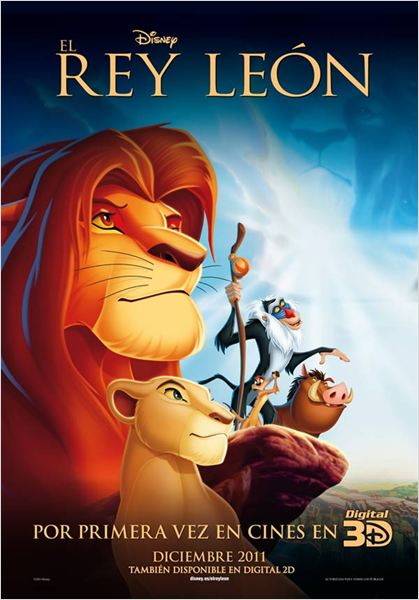 El Rey Le&#243;n : cartel