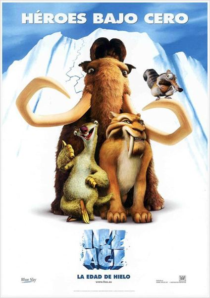 Ice Age: La Edad de Hielo : cartel