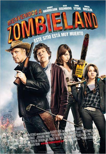 Bienvenidos a Zombieland : cartel