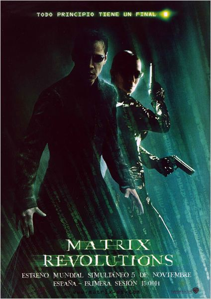 Matrix Revolutions : cartel