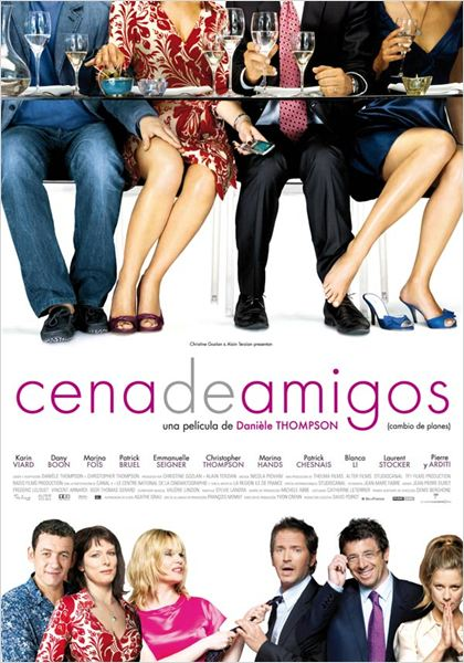 Cena de amigos : cartel