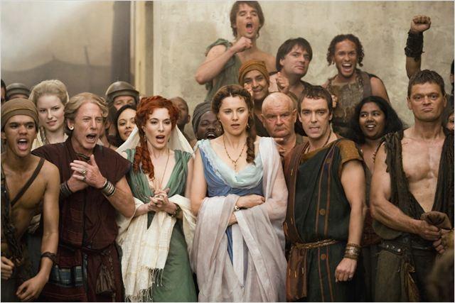 Spartacus Dioses De La Arena Foto Jaime Murray John Hannah Lucy