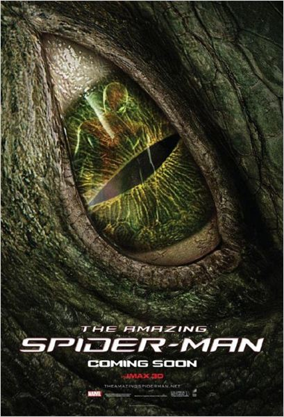 The Amazing Spider-Man : cartel