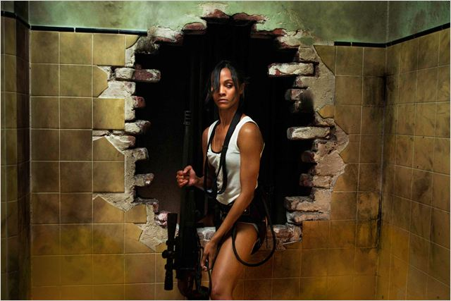 Colombiana : foto Olivier Megaton, Zoe Saldana