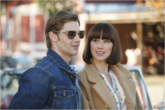 pan am foto de karine vanasse y mike vogel 29 de 107. Black Bedroom Furniture Sets. Home Design Ideas