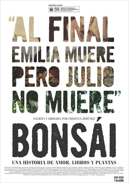Bonsái : cartel