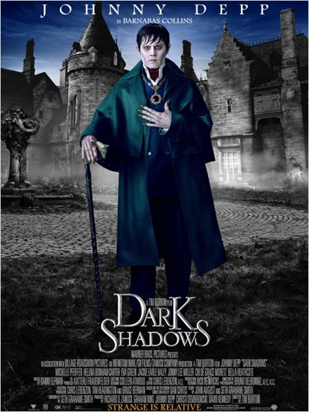 Sombras tenebrosas (Dark Shadows) : cartel