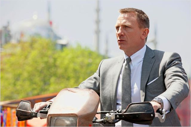 Skyfall : foto Daniel Craig