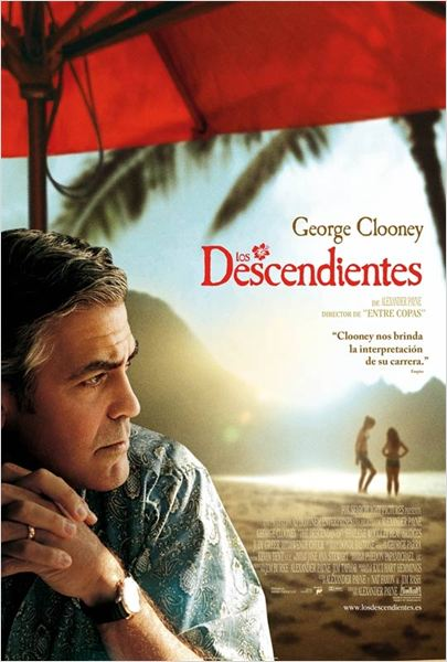 Los descendientes : cartel