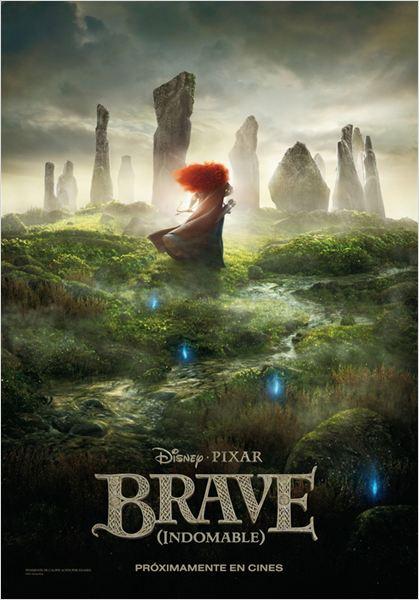 Brave (Indomable) : cartel