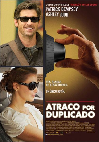 Atraco por duplicado : cartel