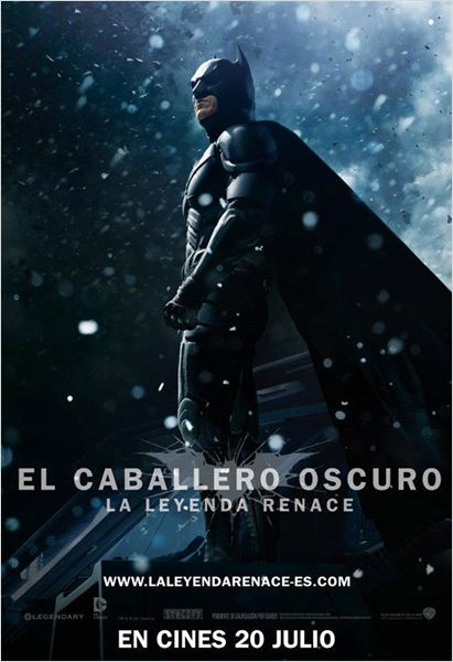 El caballero oscuro. La leyenda renace : Cartel