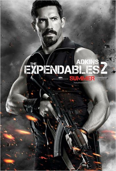 Los mercenarios 2 : cartel Scott Adkins