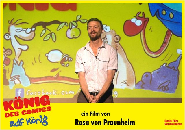 Ralf K&#246;nig, rey de los c&#243;mics : foto Ralf K&#246;nig