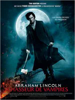 Abraham Lincoln: cazador de vampiros : cartel