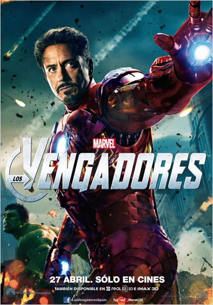 Marvel Los Vengadores : cartel