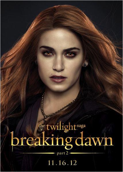 La saga Crepúsculo: Amanecer - Parte 2 : Cartel