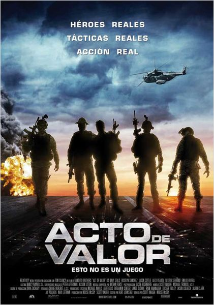 Acto de Valor : cartel