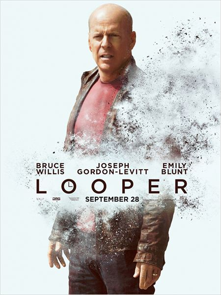 Looper : cartel Bruce Willis