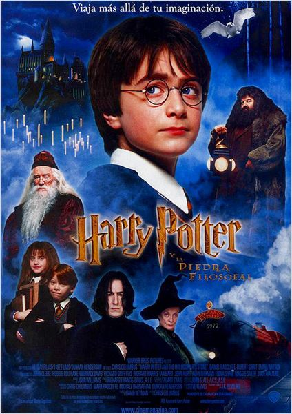 Harry Potter y la Piedra Filosofal : cartel