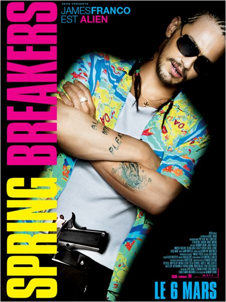 Spring Breakers : Cartel James Franco