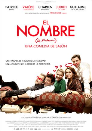 El nombre (Le pr&#233;nom) : cartel