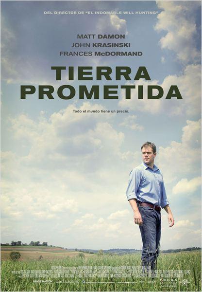 Tierra prometida : cartel