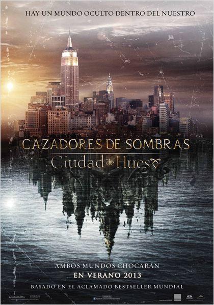 Cazadores de sombras: Ciudad de hueso : Cartel