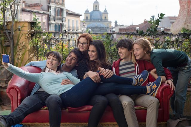 El club de los incomprendidos : Foto Alex Maruny, Andrea Trepat, Charlotte Vega, Ivana Baquero, Jorge Clemente