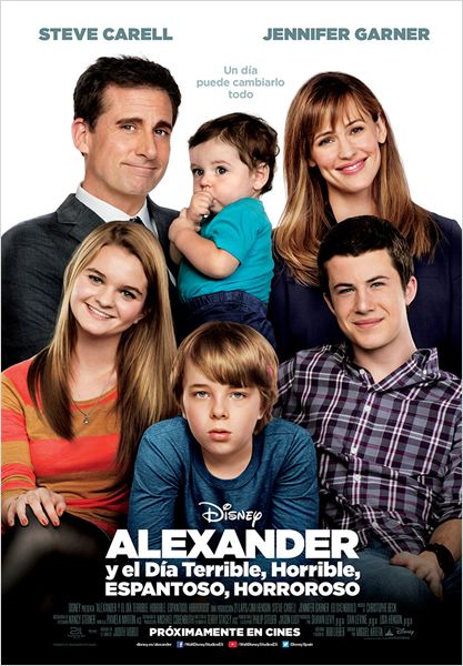 Alexander y el día terrible, horrible, espantoso, horroroso : Cartel