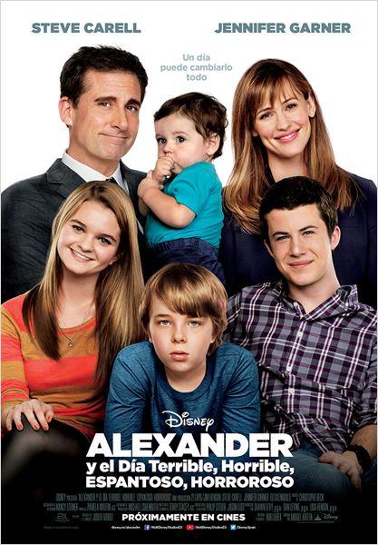 Alexander y el día terrible, horrible, espantoso, horroroso : Cartel