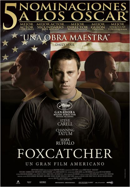 Foxcatcher : Cartel