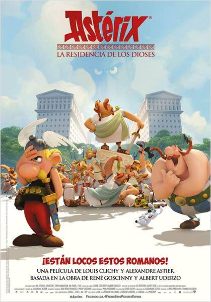Asterix: La resistencia de los dioses - Cartel